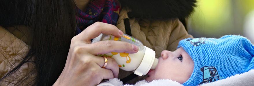 Lait destiné aux bébés prématurés